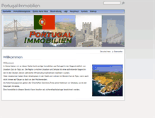 Tablet Preview of portugal-immobilien.info